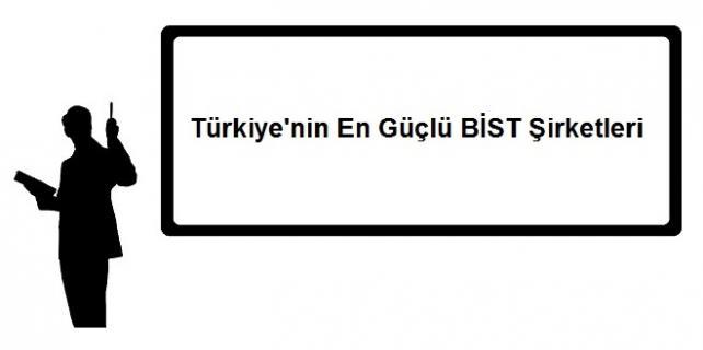 Türkiyenin En Güçlü BİST Şirketleri 642x320 - Türkiye'nin En Güçlü BİST Şirketleri