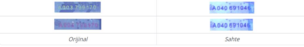 atm para seri numarası sahte para 1024x161 - Sahte Parayı Ayırt Etmenin 13 Kolay Yöntemi