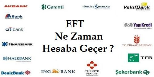 eft kaç dk hesaba geçer - EFT Kaç Dakikada Karşı Banka Hesabına Geçer?