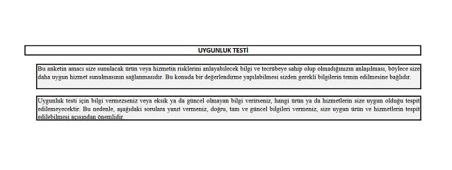 SPK Uygunluk Testi Soruları - SPK Uygunluk Testinin Önemi