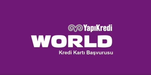 Yapı Kredi Bankası World Card kredi kartı başvurusu 642x320 - Yapı ve Kredi Bankası Worldcard Kredi Kartı Başvurusu